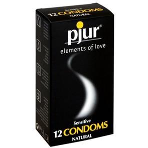 Caixa De 12 Preservativos Pjur Condoms
