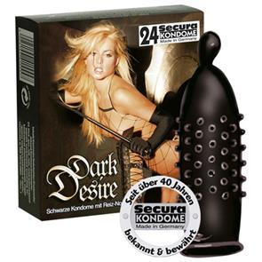 Preservativos Dark Desire 24 Unidades